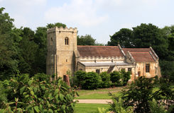 Brodsworth Church South Yorksh. Brodsworth is a village and civil parish in the Metropolitan Borough of Doncaster in South Yorkshire, England, situated about Royalty Free Stock Photo