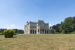 Brodsworth Hall, Doncaster, England. The Stunning Brodsworth Hall near Doncaster, England on a perfect summers day royalty free stock image