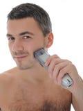 brody twarzy przystojni odosobneni męscy golenia potomstwa Fotografia Royalty Free