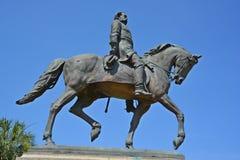Brodzenie Hampton III equestrian statua Obrazy Royalty Free