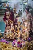 Broederschap die van het corsage van Jesus post van berouw in fron maken royalty-vrije stock afbeelding