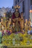 Broederschap die van het corsage van Jesus post van berouw in fron maken stock fotografie