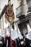 Broederschap met zijn vlag Stock Afbeeldingen