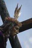 Broederschap van onze vader Jesus Nazareno stock fotografie