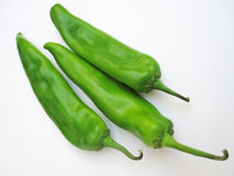 Broedsel Groene Chiles II stock fotografie