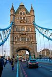broengland london torn Royaltyfria Bilder
