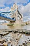 broengland london torn Royaltyfria Foton