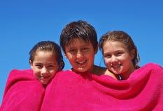 Broer en zusters Stock Foto's