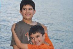 Broers voor altijd Stock Fotografie