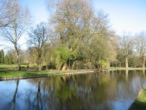 Broersepark Royalty Free Stock Image
