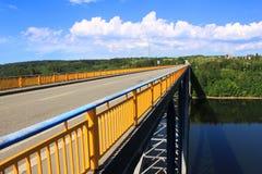 brofördämningorlik över zdakovkov Royaltyfria Foton