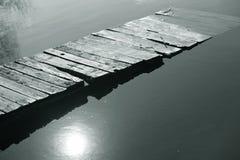 broflod Arkivfoto