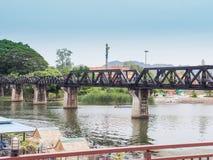 Broflod Kwai Arkivfoto