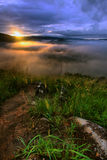 Broga Hill - Sunrise Royalty Free Stock Photos