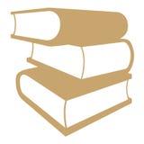 Brogować książki royalty ilustracja