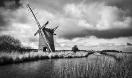 Brograve mill windpump Stock Image