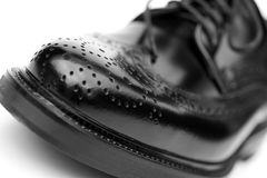 Brogue close Stock Images