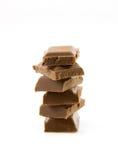 brogująca cukierek prętowa czekolada Zdjęcia Stock