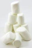 brogująca marshmallows miękka część Obrazy Stock