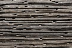 Brogujący dekarstwo łupku wzór lub tekstura Obraz Stock