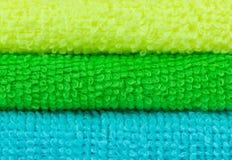 Brogujący kolorowi ręczniki Obraz Stock