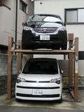 Brogujący parking samochodowy Obraz Royalty Free
