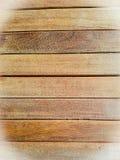 Brogujący Prostokątny drewniany blok, vignetting kąty Fotografia Stock