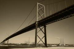 brohamn över Royaltyfri Bild