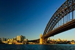 brohamn sydney royaltyfri fotografi