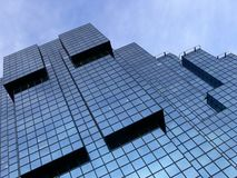 Bürohaus, London Lizenzfreie Stockfotografie