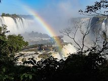BroIguazu Falls landskap Royaltyfria Foton