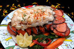 Broiled Lobster Stock Image