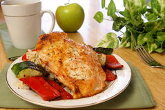 Broiled Pepper Chicken Royalty Free Stock Image