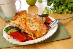 Broiled Pepper Chicken Stock Photography
