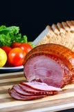Broiled sweet ham Stock Image
