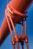 broKalifornien francisco port guld- san Arkivfoto