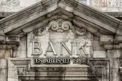 Broke Bank Royalty Free Stock Image