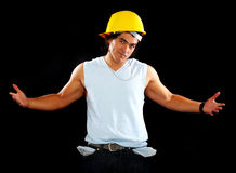 Broke Builder Stock Image