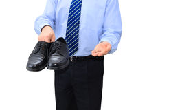 Broke businessman Stock Images