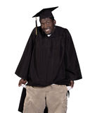 Broke Graduate Royalty Free Stock Photo