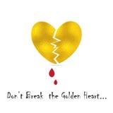 Broke Heart Concept Royalty Free Stock Photos