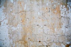 Broked cement texture Royalty Free Stock Photos