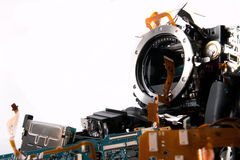 Broked DSLR camera Stock Photo