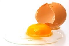 broken ägg Arkivfoto