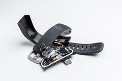 Broken activity tracker Royalty Free Stock Photo