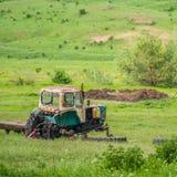 Broken Agrimotor Stock Image