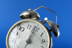 Broken alarm clock Royalty Free Stock Photography