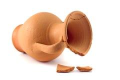 Broken amphora royalty free stock images