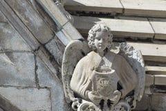 Broken angel Stock Photography