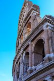 Broken Arches on Coloseum Stock Photography